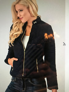 Quilted Crop Jacket