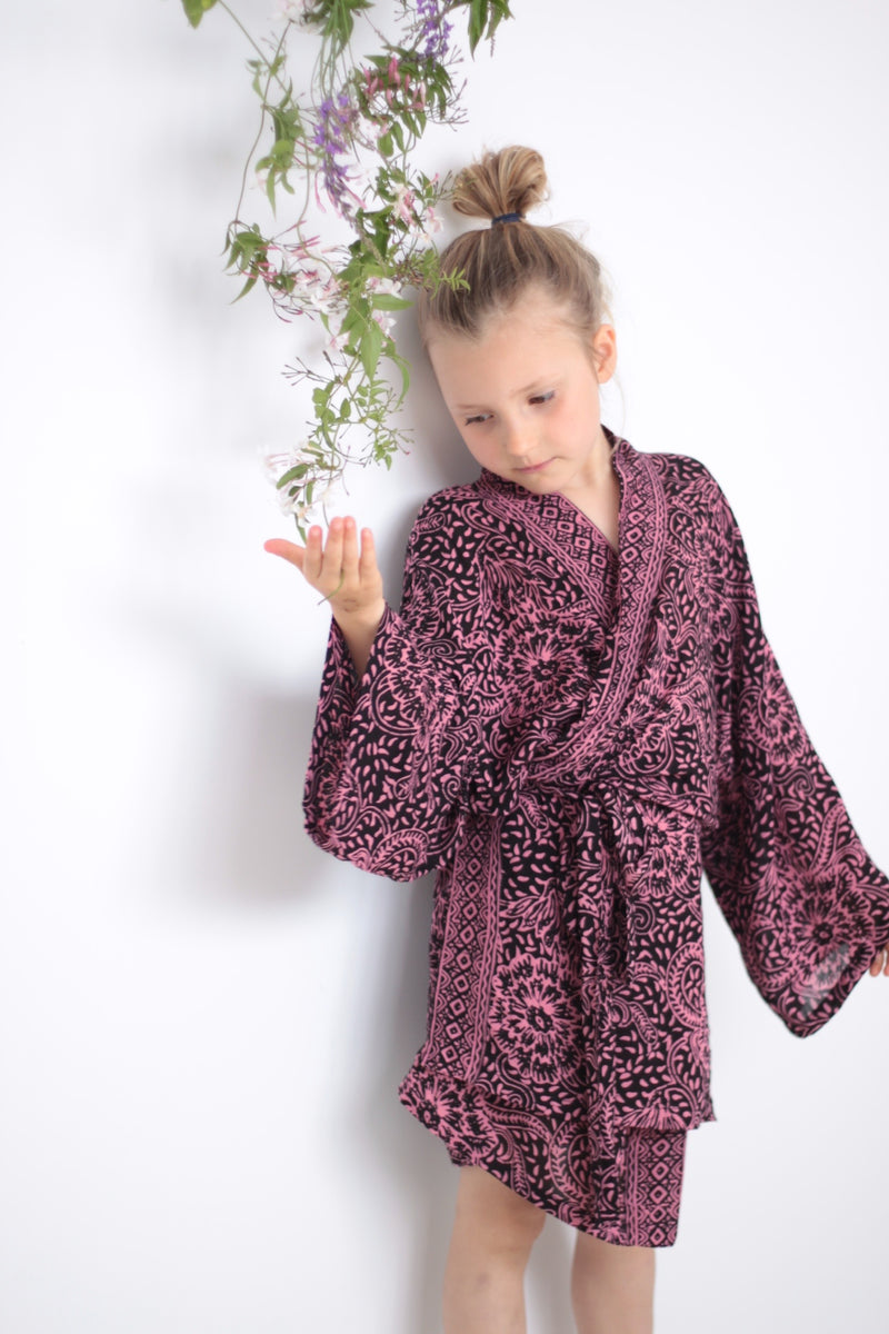 Kids kimonos available now sizes 2 to 9 years. Mummy Daughter Kimono Sets