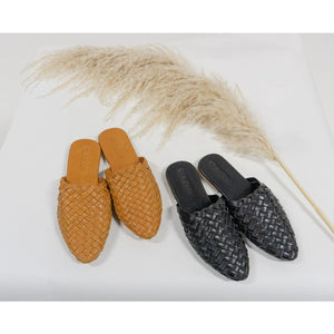 Woven Leather Sandals- Girls sizes