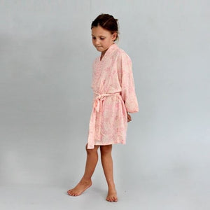Girls Kimono - Sizes 2-9 years, Rosey Pink