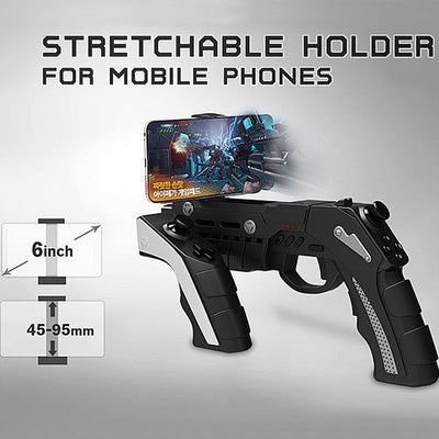 Original IPEGA 9057 PG-9057 Gun Style Wireless Bluetooth Game Controller