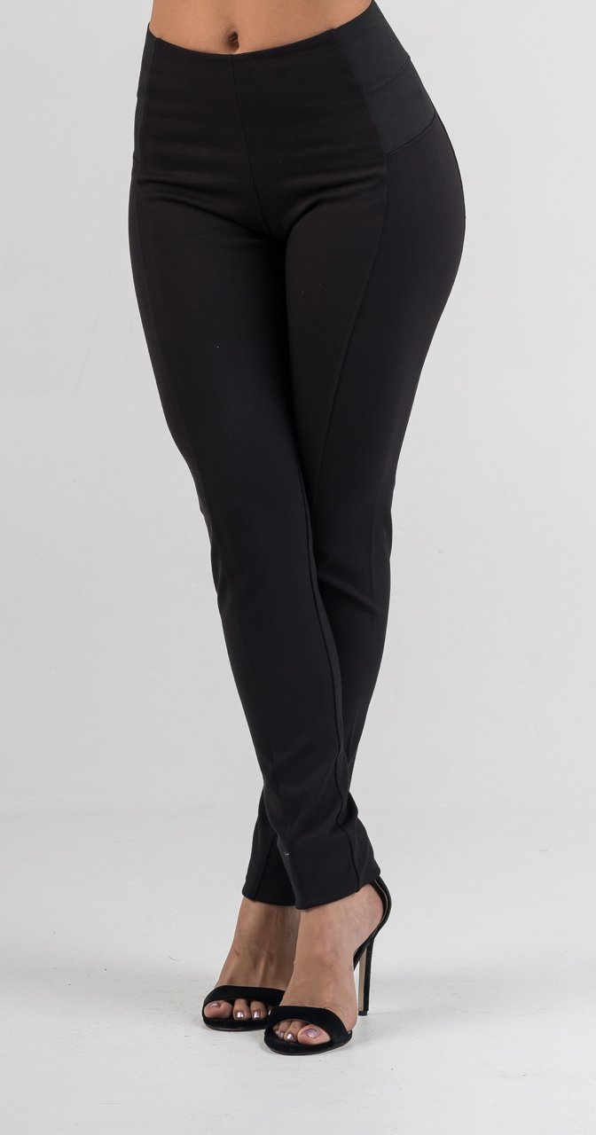 Black High Waisted Leggings - GLISTENSTYLES