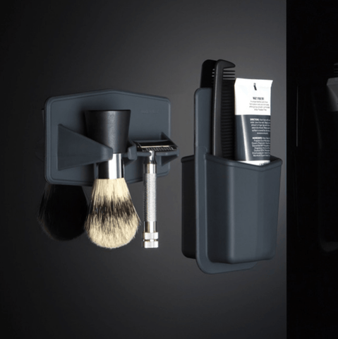 Tooletries | Pureman | Brush and Razor Rack