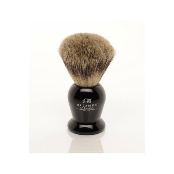 St James of London, Pure Shaving Brush Ebony