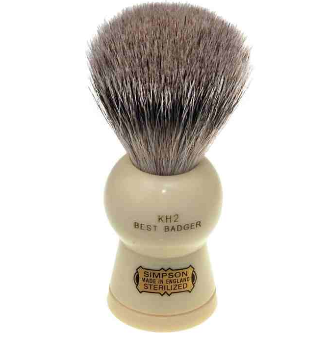 Simpsons, Simpsons Keyhole KH2 Best Badger Shaving Brush