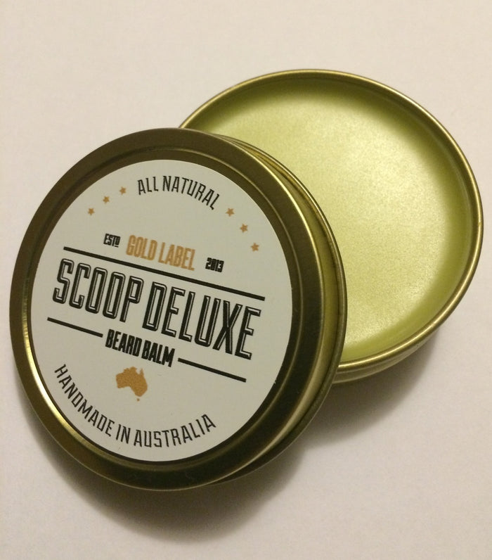 Scoop Deluxe Beard Balm Gold Label