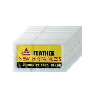 Feather Razor Company, Double Edge Razor Blades (100)