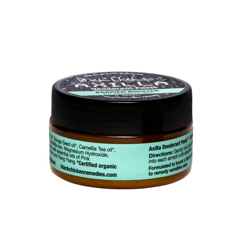 Black Chicken Remedies, Black Chicken Remedies Axilla Deodorant Paste™ Barrier Booster 75g