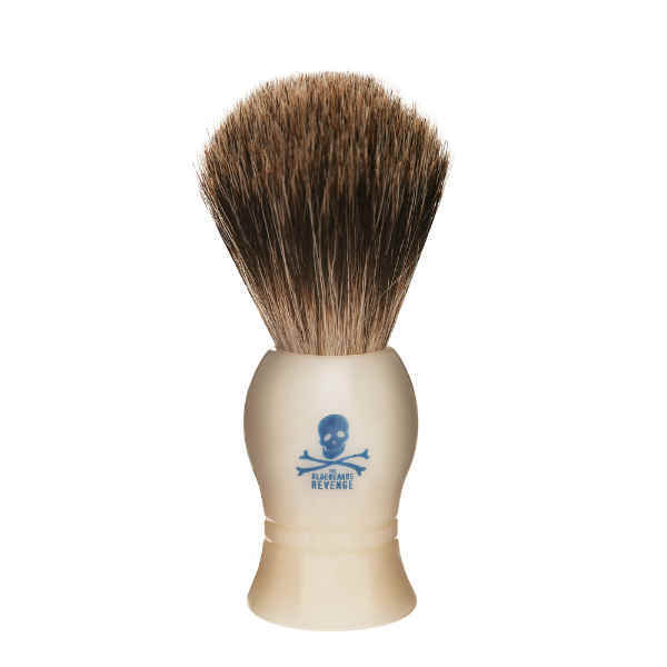 Bluebeards Revenge, The Bluebeard's Revenge Badger Shaving Brush White