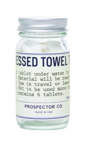 Prospector Co., Compressed Towel Tablets
