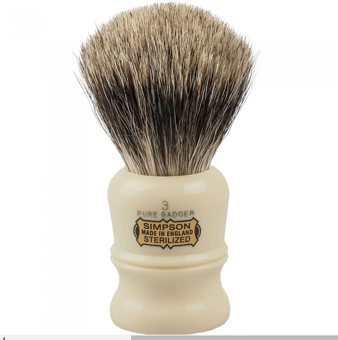 Simpsons, Simpsons Duke D3 Pure Badger Shaving Brush
