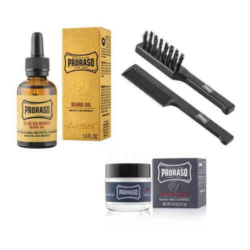 PUREMAN, Proraso Moustache & Beard Kit