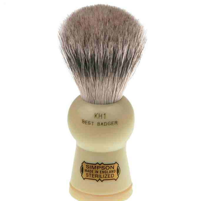 Simpsons, Keyhole KH1 Best Badger Shaving Brush