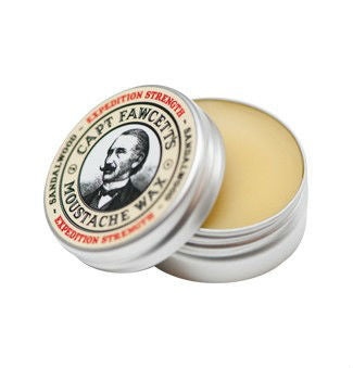Captain Fawcetts, Captain Fawcett's Expedition Strength Sandalwood Moustache Wax 15ml