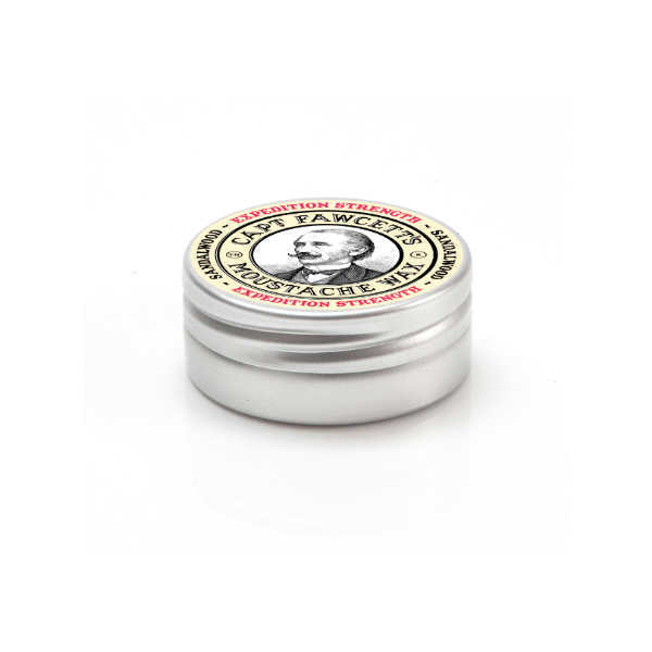 Captain Fawcetts, Expedition Strength Sandalwood Moustache Wax 15ml
