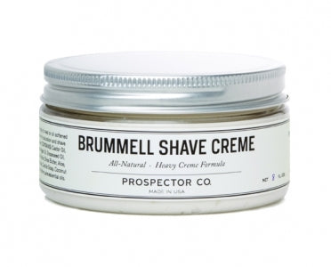 Prospector Co., Brummell Shave Cream