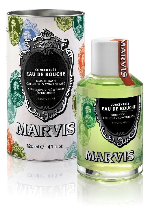 Marvis, Marvis Strong Mint Mouthwash 120ml