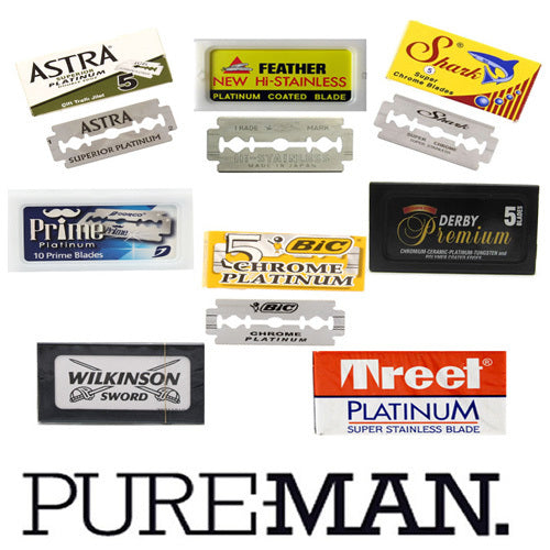 PUREMAN, Double Edge Razor Blade Pack (50)