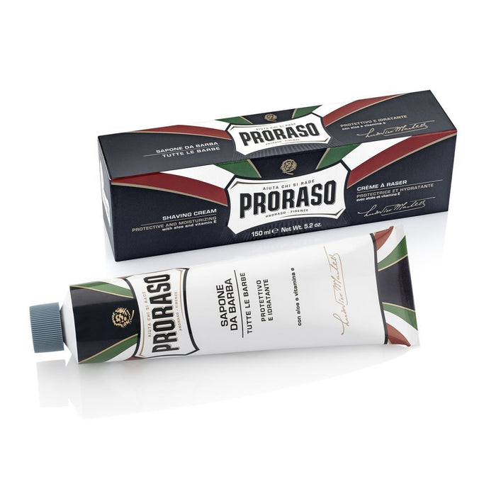Proraso Aloe & Vitamin E Shaving Cream Tube 150ml