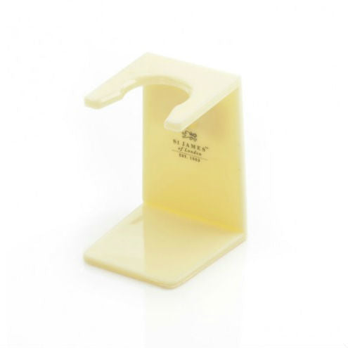 St James of London, Plastic Brush Stand Ivory
