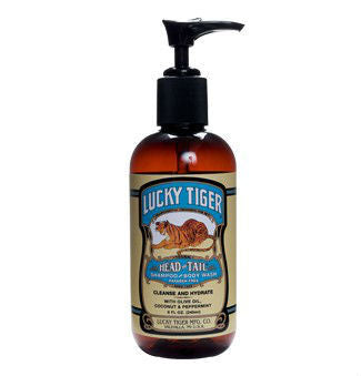 Lucky Tiger, Peppermint Shampoo & Body Wash 240ml