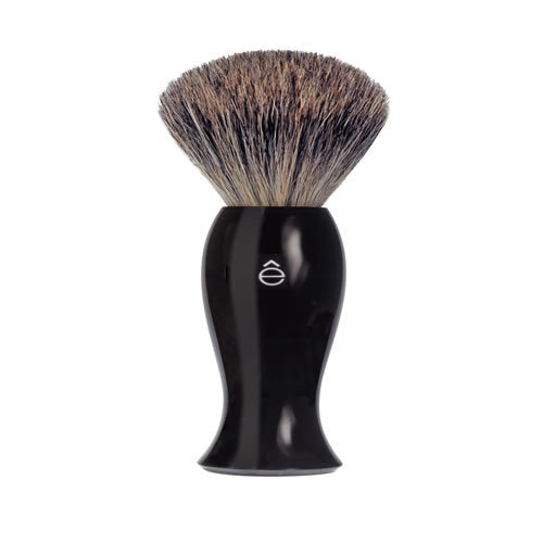 Fine Badger Shaving Brush Black