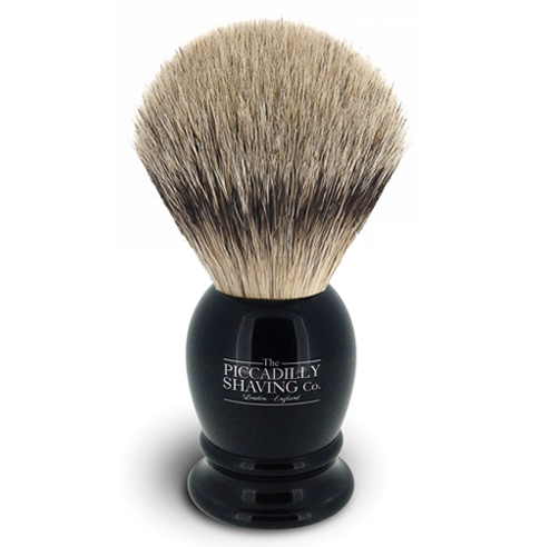Black Super Badger Shaving Brush