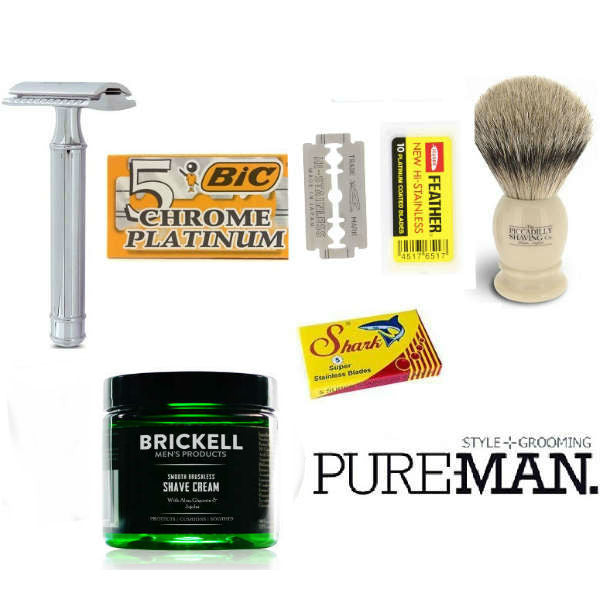 PUREMAN, Wetshave Kits - Luxury