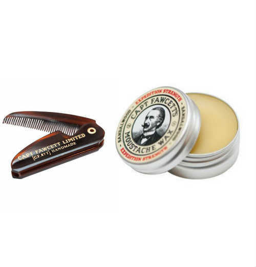 Captain Fawcett Moustache Kit