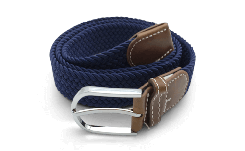 The Otto Navy Canvas Belt