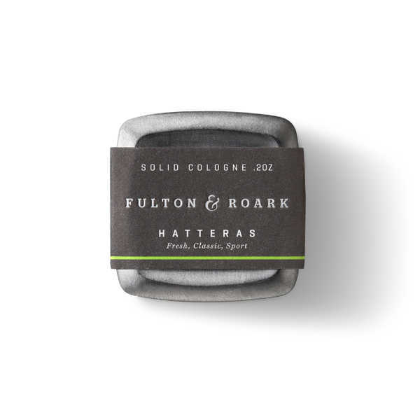 Fulton and Roark Solid Cologne Hatteras