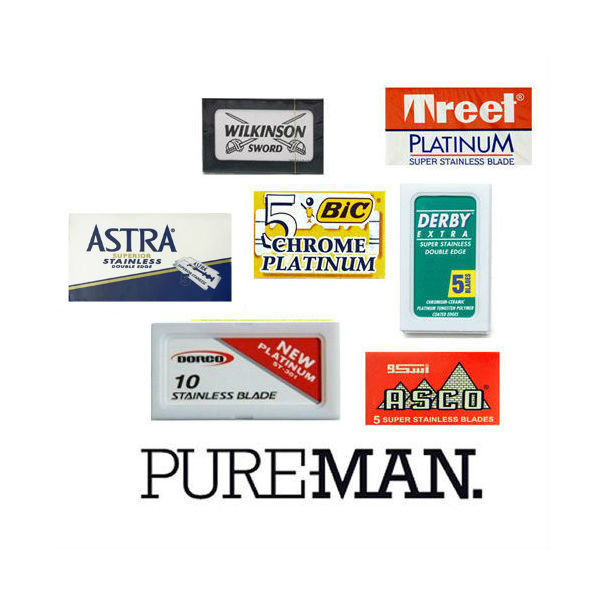 PUREMAN, Double Edge Razor Blade Pack (40)