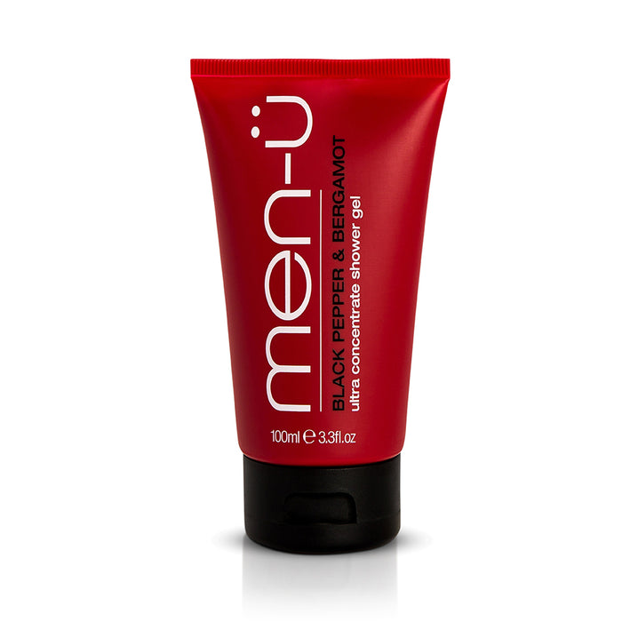 Men u, Men-U Ultra Concentrate Shower Gel Black Pepper & Bergamot