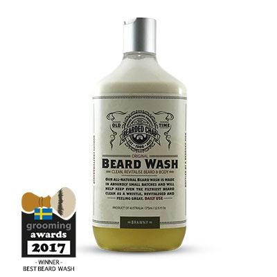 The Bearded Chap, The Bearded Chap Original Beard Wash 375ml Brawny