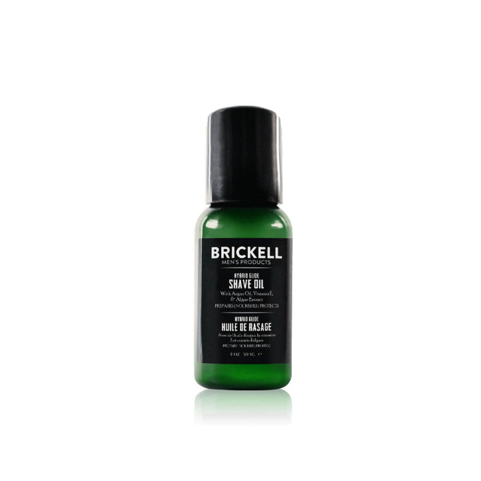 Brickell, Brickell Mens Hybrid Glide Shave Oil 59ml