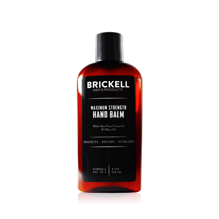 Brickell, Brickell Men's Maximum Strength Hand Balm 118ml