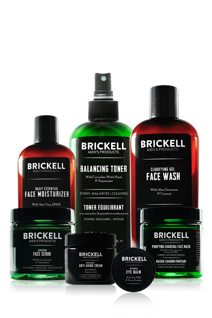 Brickell, Brickell Men's Daily Elite Face Care Routine I