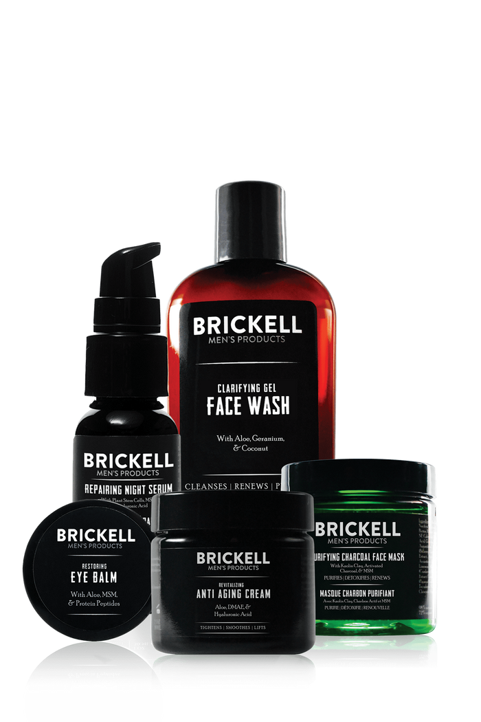 Brickell, Brickell Men's Evening Face Care Routine I