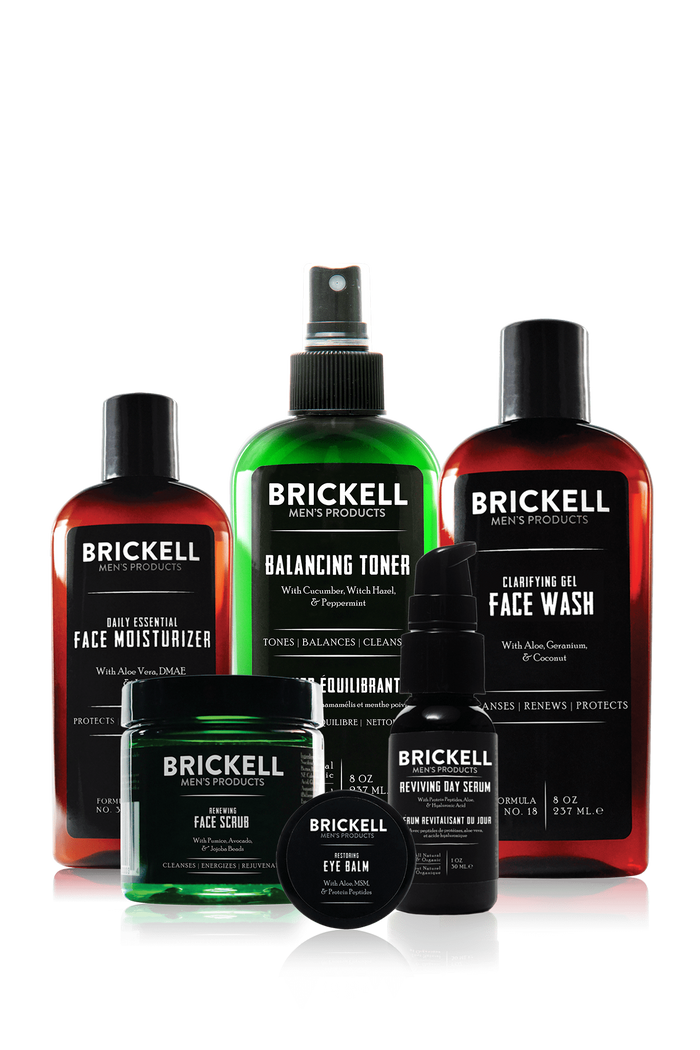 Brickell, Brickell Men's Morning Face Care Routine I