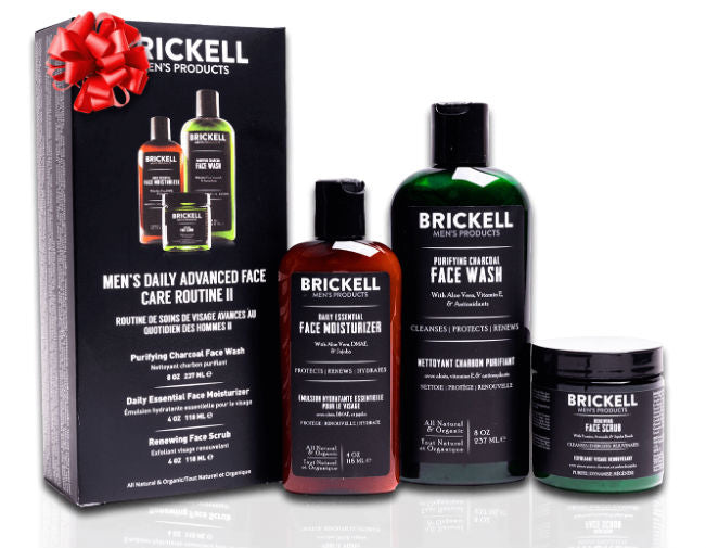 Brickell's Men's Daily Advanced Face Care Routine II