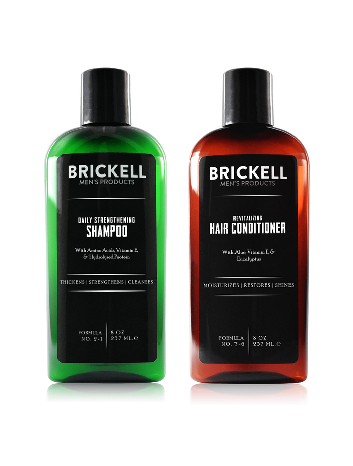 Brickell Hair Care Routine