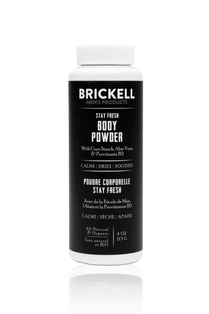 Brickell, Brickell Stay Fresh Body Powder