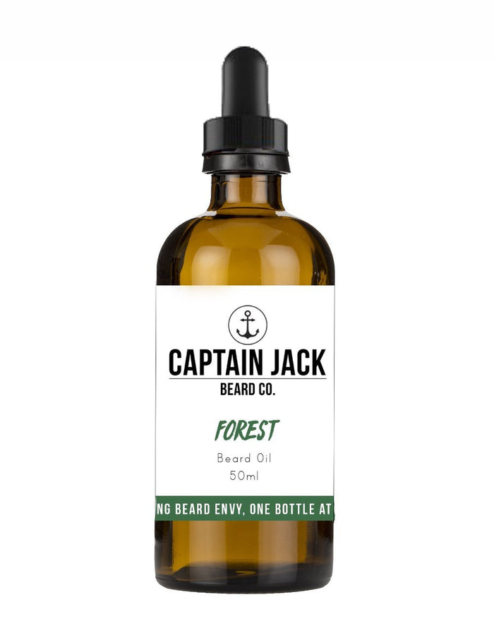 Captain Jack Beard Co., Captain Jack Forest Beard Oil 50ml