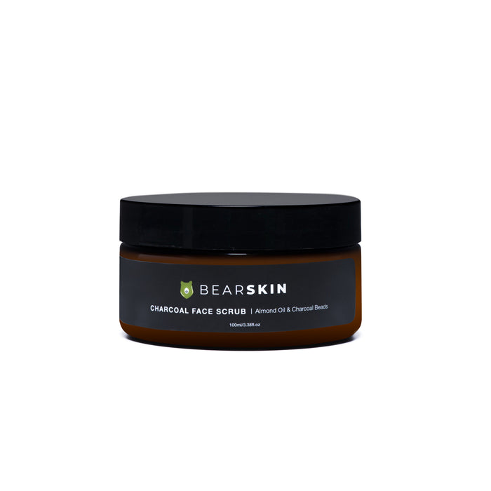 Bearskin Charcoal Face Scrub 100ml