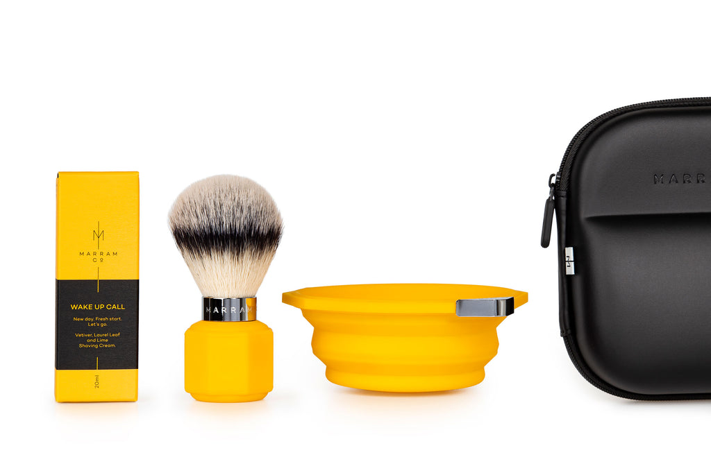 Marram Co Pop Shaving Kit in Yellow