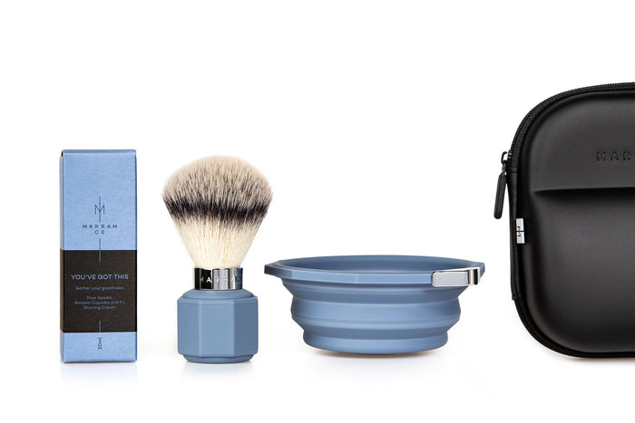 Marram Co, Marram Co Pop Shaving Kit Blue