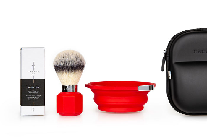 Marram Co, Marram Co Pop Shaving Kit Red