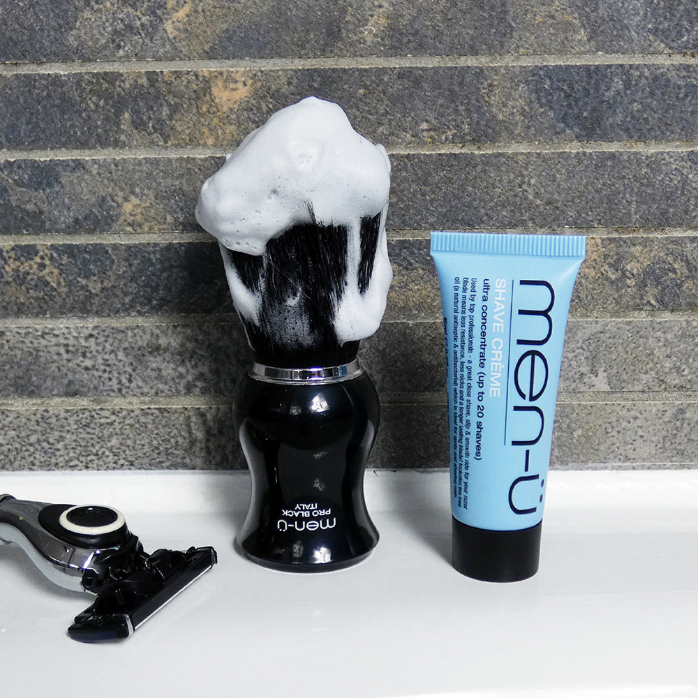 Men u, Men-U Pro Black Shaving Brush