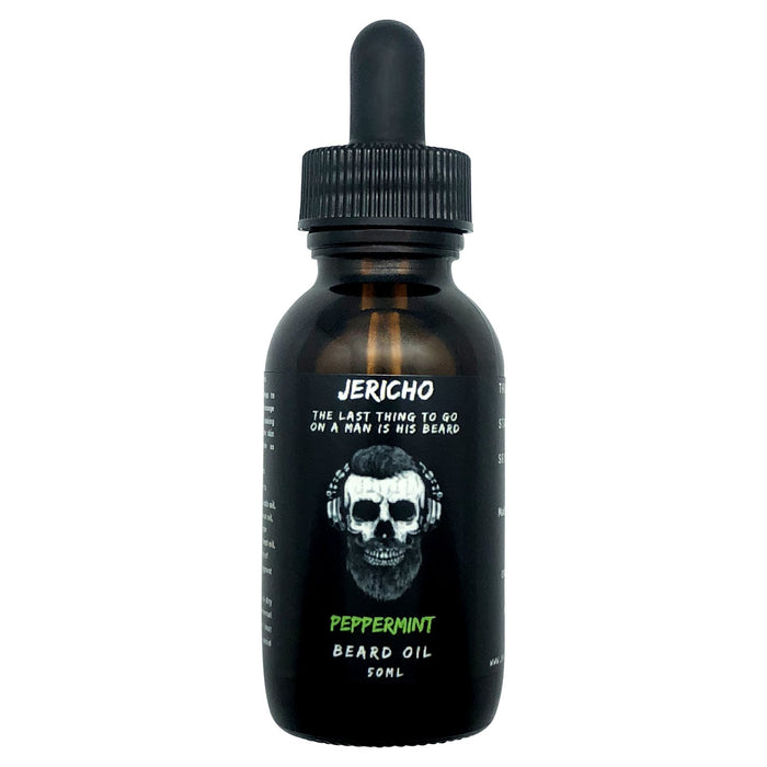 Jericho, Jericho Beard Oil 50ml Peppermint