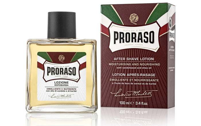 Proraso, Proraso After Shave Lotion Sandalwood & Shea 100ml